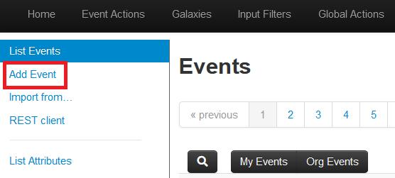 Event追加