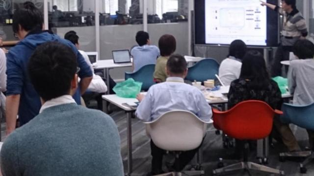 TechLunchの風景